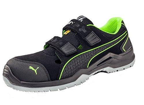 PUMA Safety Unisex PU644300-43 Leichtathletik-Schuh, Nero/Verde, 43 EU