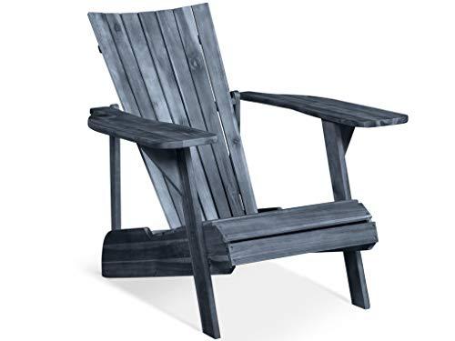 LANTERFANT - Adirondack Gartensessel Fred, bearchair, Lounge Sessel, Canadian Deck Chair (Verwittert)