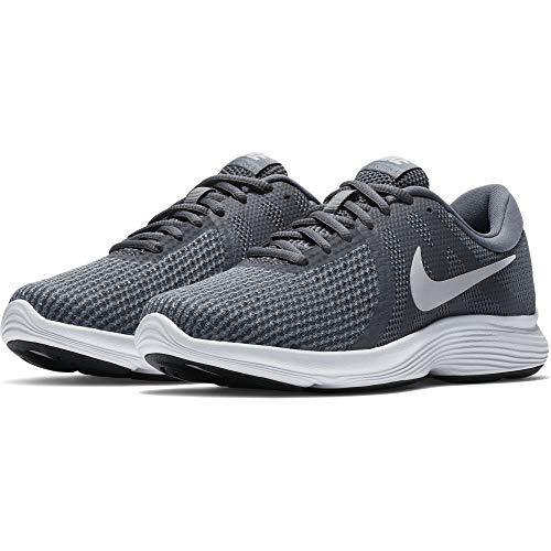 Nike Revolution 4 Eu, Scarpe da Trail Running Donna, Multicolore (Dark Grey/Pure Platinum/Cool Grey/White 010), 39 EU