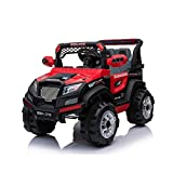 GetBest 8011 Electric Ride On SUV with 12V Battery, Music System, Remote Control