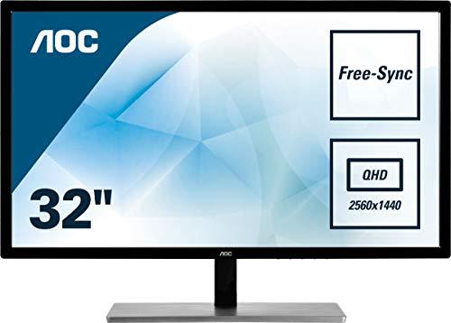 "Monitor 4K de 32"" modelo Q3279VWFD8 de AOC"