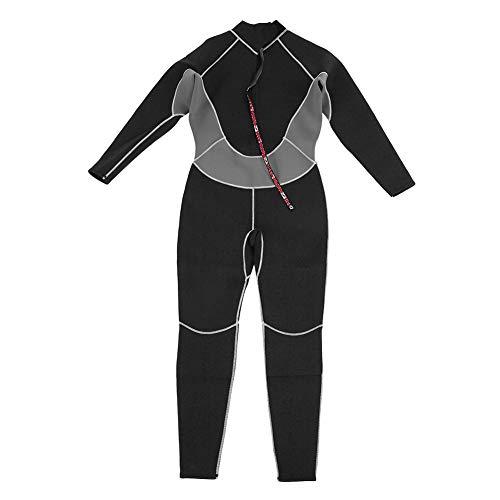 VGEBY1 Traje de Buceo, Neopreno Masculino, protección UV, Cuerpo Completo, Traje de baño para Nadar, Buceo, Buceo, Snorkeling, Surf, Pesca submarina(M)