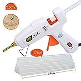 E.Durable Hot Glue Gun, 60W/100W Hot Melt Glue Gun with 15 Glue Sticks