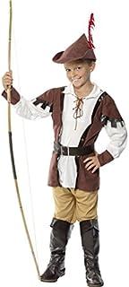 Bristol Novelty Boys Robin Hood Fancy Dress Costume Small (3