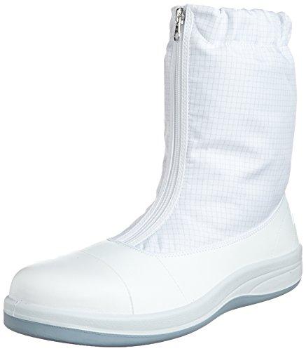 [ミドリ安全] 静電安全靴 クリーンルーム向け トゥキャップ付き ブーツタイプ SCR1200 フルCAP ハーフ メンズ ホワイト 29.0(29cm)