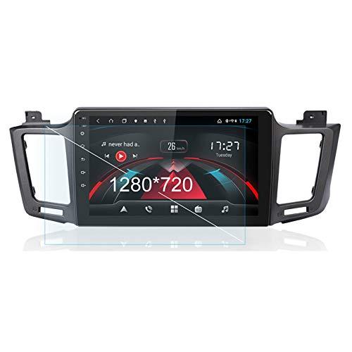 Autorradio Autoestereo Pantalla Táctil Capacitiva GPS Navegación Control del Volante Unidad Principal Estéreo Enlace Espejo WiFi Bluetooth para Toyota/RAV4 RAV 4 2013~2018