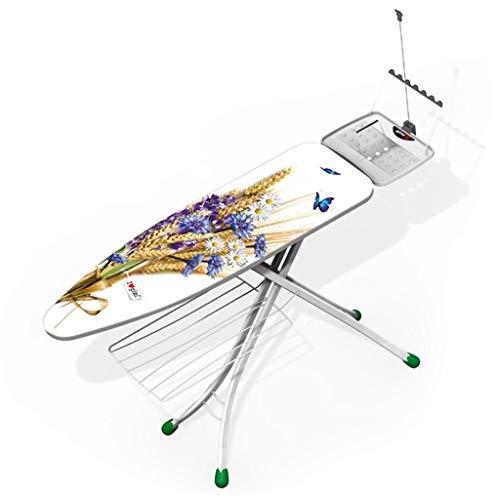 KangJZ-Tables Overtrek grote platen strijkplank, staand strijkplank Hotel Home stoomstrijkijzer, stalen rooster oppervlak opslag Rack mouwplank
