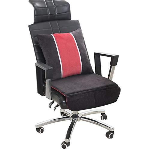Cineman verwarmingsdeken ter controle van de temperatuur van het zitkussen verwarmt voor in de auto, voor bureaustoel, kussens voor elektrische verwarming
