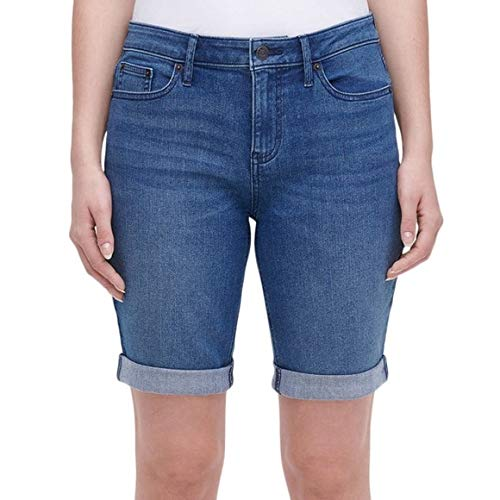 DKNY Bermuda Jean Shorts Denim Women Blue 16