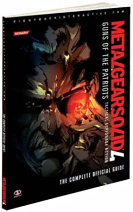 Metal Gear Solid 4: Guns of the Patriots Official Guide