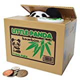 SPARK TOYS & GAMES - Stealing Panda Bear Piggy Bank - Very Cute! - Steals Coins Like Magic!
