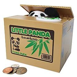 Best Mechanical Piggy Banks Review - Panda Piggy Bank