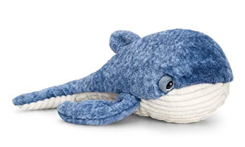 Keel Toys SW0762 Blauwal-Stofftier, 35 cm, Weiß