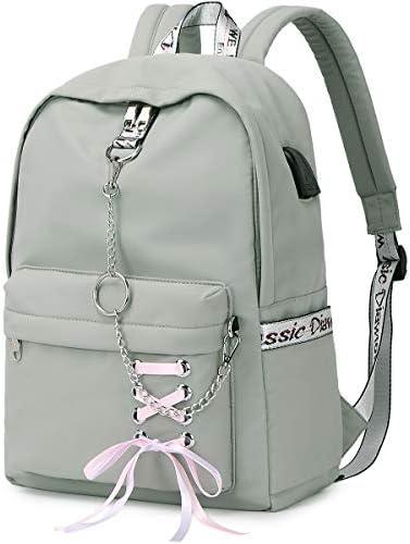 Hey Yoo HY760 Cute Casual Hiking Daypack Waterproof Bookbag School Bag Backpack for Girls Women product image