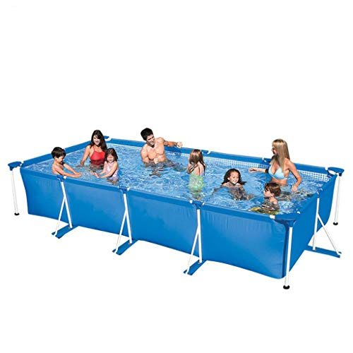 Rechteck Pool Removable Bracket Pool Home Aufstockung Mobile Adult Pool Blue-260 * 160 * 65cm
