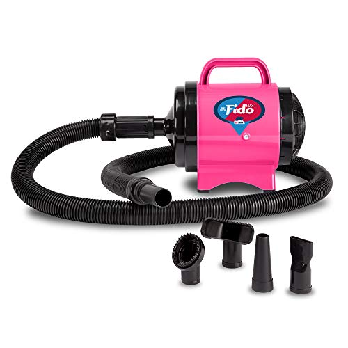 B-Air Fido Max 1 Dog Dryer - Premier Grooming Collection, Hot Pink