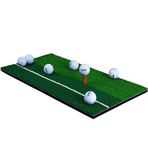 Conveniente Alfombra de golf de Real Feel Práctica comercial Tapete de golf Tapetes de golf Tapetes de práctica de interior Espesar Las colchonetas de bola giratoria se pueden combinar con redes de pr