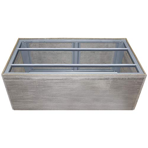 Review Firegear Assemble and Finish Linear Fire Pit Enclosure (ANF-L74-FPB-30LTFS-N-FPB-30LTFS-N), 7...