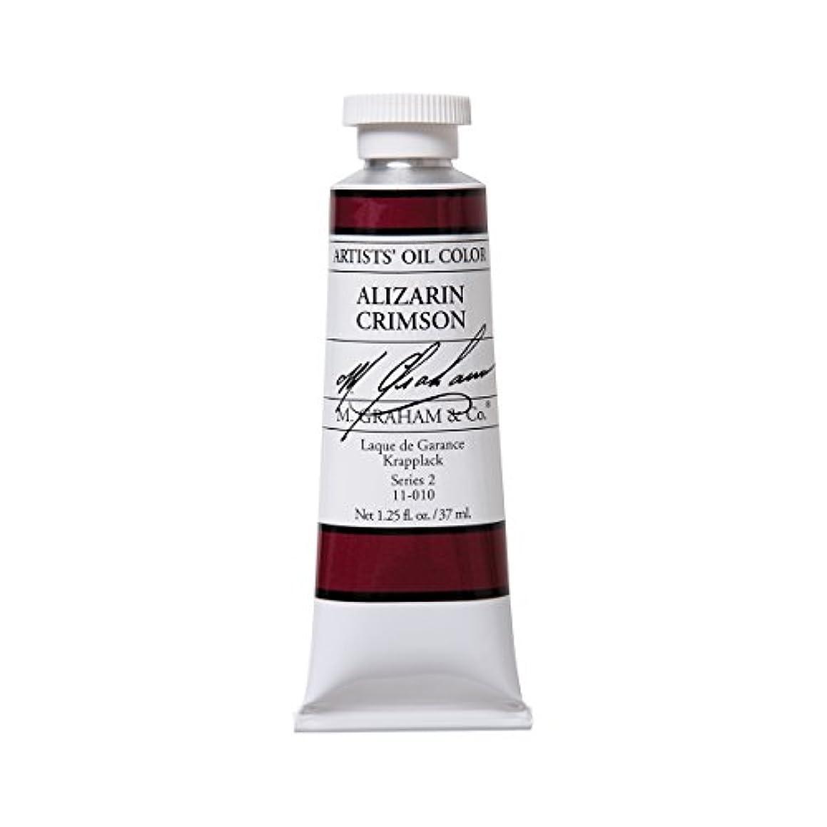 M. Graham Artist Oil Paint Alizarin Crimson 1.25oz/37ml Tube
