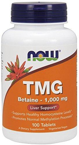 Now Foods TMG, 1000mg x10tabs