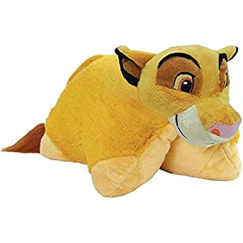 Toys Play DCP-NS-SIMBA Stuffed Plush Toy for Sleep Pillow Pets Simba Disney The Lion King Soft and Washable Pillow Pets and Comfort Travel Great for Boys and Girls of All Ages