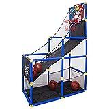 Máquina de tiro de baloncesto para niños Juego de arcade de baloncesto para niños para niños pequeños Arcade Baloncesto Hoop Interior Baloncesto Sistema de tiro deportivo Juguetes deportivos con 2 bol