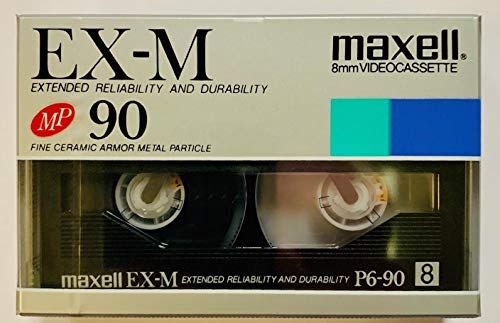 Review Of MAXELL P6-90EX METAL PARTICLE 8MM 90MIN VIDEOCASSETTE