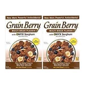Grain Berry Multi-Bran Flakes w/ONYX Sorghum - 2 Pack (24 Oz / 680g total)