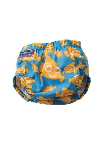 Konfidence Schwimmwindel Aquawindel Babybadehose 3-30 Monate Motiv Clownfish