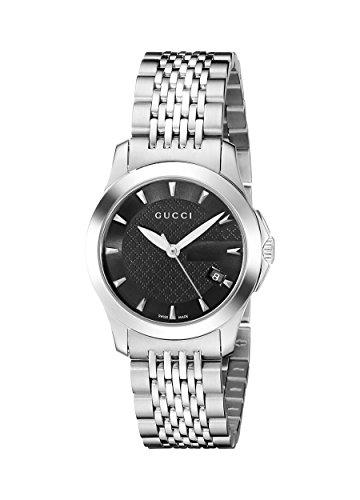 Gucci YA126502 - Reloj de Cuarzo para Mujer, con Correa de A