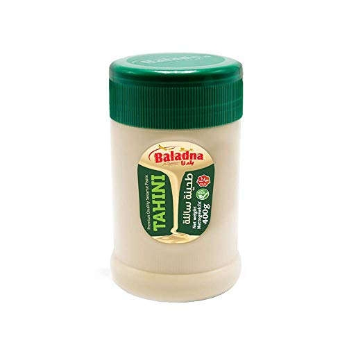 Baladna - Tahini - Pasta de Sésamo - Producto Asiatico - 400 Gramos