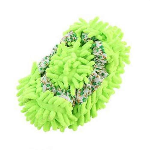 JUNSHUO Zapatillas mop, Multifunction Microfiber Dust Mop Shoes Slippers Cleaning For Home, Zapatillas de Limpieza para ,extraíbles y Lavables,para Limpiar el Polvo,3Colors(Color al Azar)