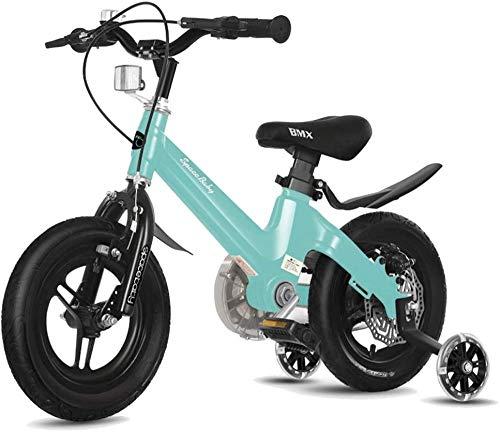 Freestyle Boy Girl Child Child Bicycle 2 Colores 12 con estabilizador Botella de Agua y Soporte-A_12in