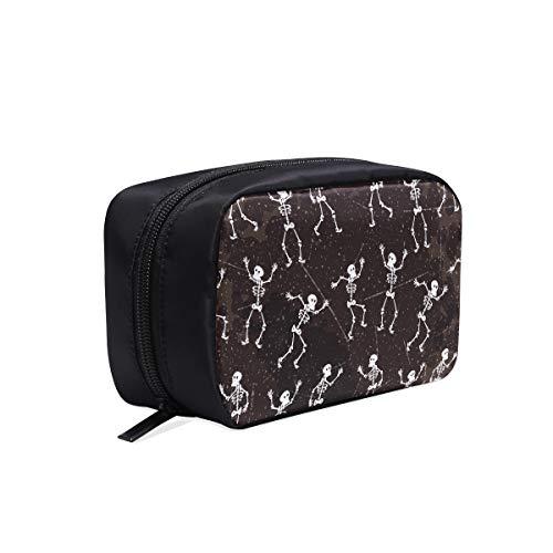 Weekender Cosmetic Bag Dia De Los Muertos Skeleton Party Bolsas de baño...