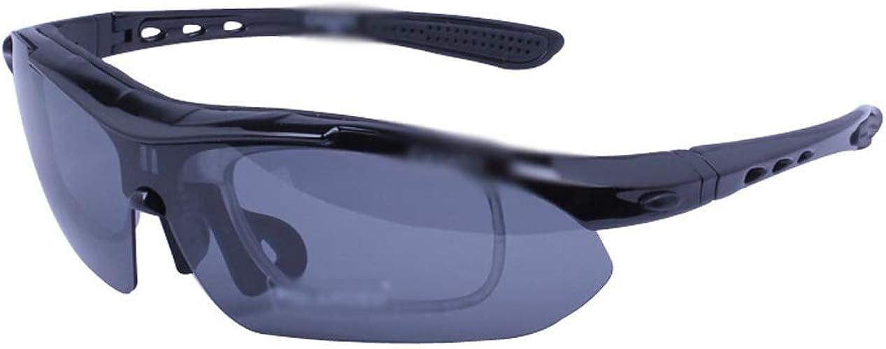 NSDFG Lunettes de Prougeection - Sports de Plein air Vélo Lunettes d'équitation Lunettes de Vision Nocturne polarisées Lunettes de Soleil