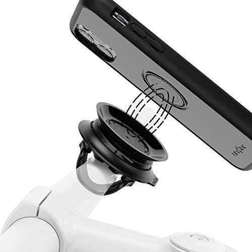 Fidlock Vacuum Set Fahrradhandyhalter für Lenker iPhone 11/12 Fahrradhalterung iPhone Halterung Fahrrad Handyhalterung Rennrad Bike Phone Mount Handy Halterung Fahrrad Bike Phone Holder
