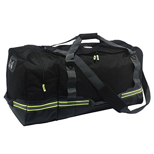Ergodyne - 13009 Arsenal 5008 Firefighter Turnout Gear and Safety Duffel Bag for Fire, Fall Protection and Sport Gear Bag Use, Black