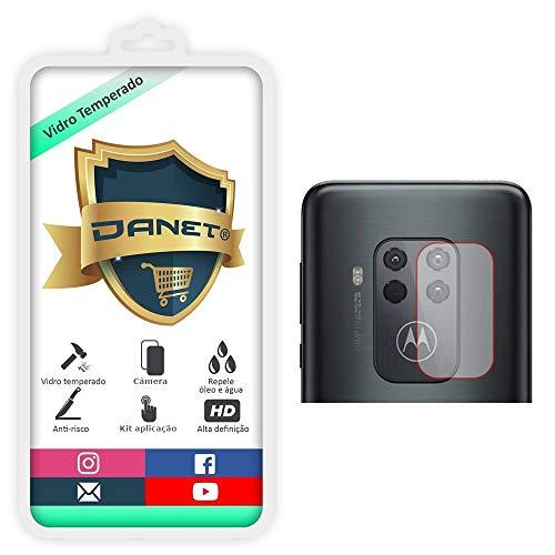 Película De Vidro Temperado Para Lente da Camera Motorola Moto One Zoom - Proteção Da Lente Blindada Anti Impacto Top Premium - Danet