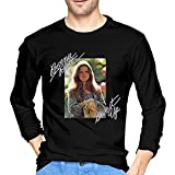 JIHOLIO Bonnie Raitt Give It Up - Camiseta de manga larga para hombre, color negro, Negro , L