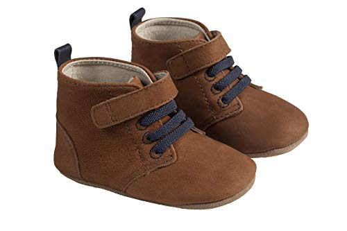 Robeez Lucas Camel First Kick Baby Shoe 12-18mo