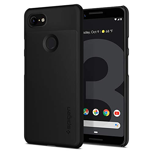 Spigen Thin Fit Designed for Google Pixel 3 Case (2018) - Black