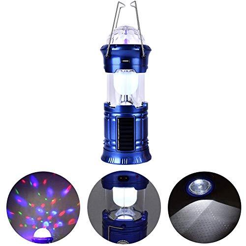 EisEyen 3 in 1 Tragbare Solar Camping Lampe USB Wiederaufladbare Campingzelt LED Bühne Taschenlampe Solar Fackel Notfall Nachtlampe