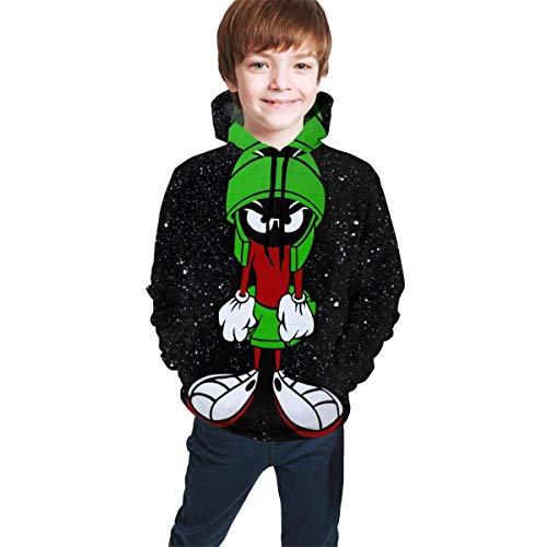 Jungen Kapuzenpullover Mar-Tian Teen Pullover Kapuzen-Sweatshirt mit Taschen Langarm