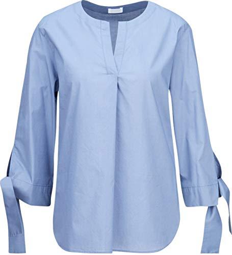 Drykorn Damen Tunika-Bluse aus Baumwolle in Blau-Grau 2 / S
