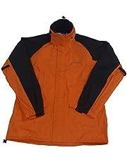 T's(ティーズ) バイク用レインスーツ ハイブリッドセパレート オレンジ/ブラック M