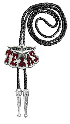 Urban Backwoods Texas Longhorn V Bolotie Western Country Bolo Tie