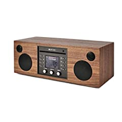 Single-slot CD Player Multi-room music system with one-touch streaming and Hi-Fi sound Countless music sources including FM radio, Internet radio, Bluetooth streaming, Wi-Fi connectivity Streaming services including Amazon Music, Spotify, Napster, an...