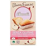 Bauli Plumcake Gusto di Mela Senza Glutine e Lattosio, Confezione da 4 x 33g...