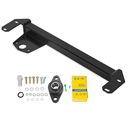KUAFU Steering Gear Box Stabilizer Bar Kit W/Hardware Compatible With 1994-2002 Dodge Ram 1500 2500 3500 4x4 Both Gasoline, Diesel Models