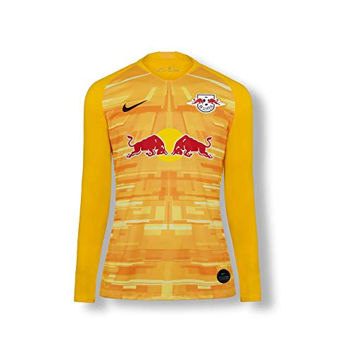 RB Leipzig Goalkeeper Trikot 19/20, Gelb Youth Large T Shirt, RasenBallsport Leipzig Sponsored by Red Bull Original Bekleidung & Merchandise